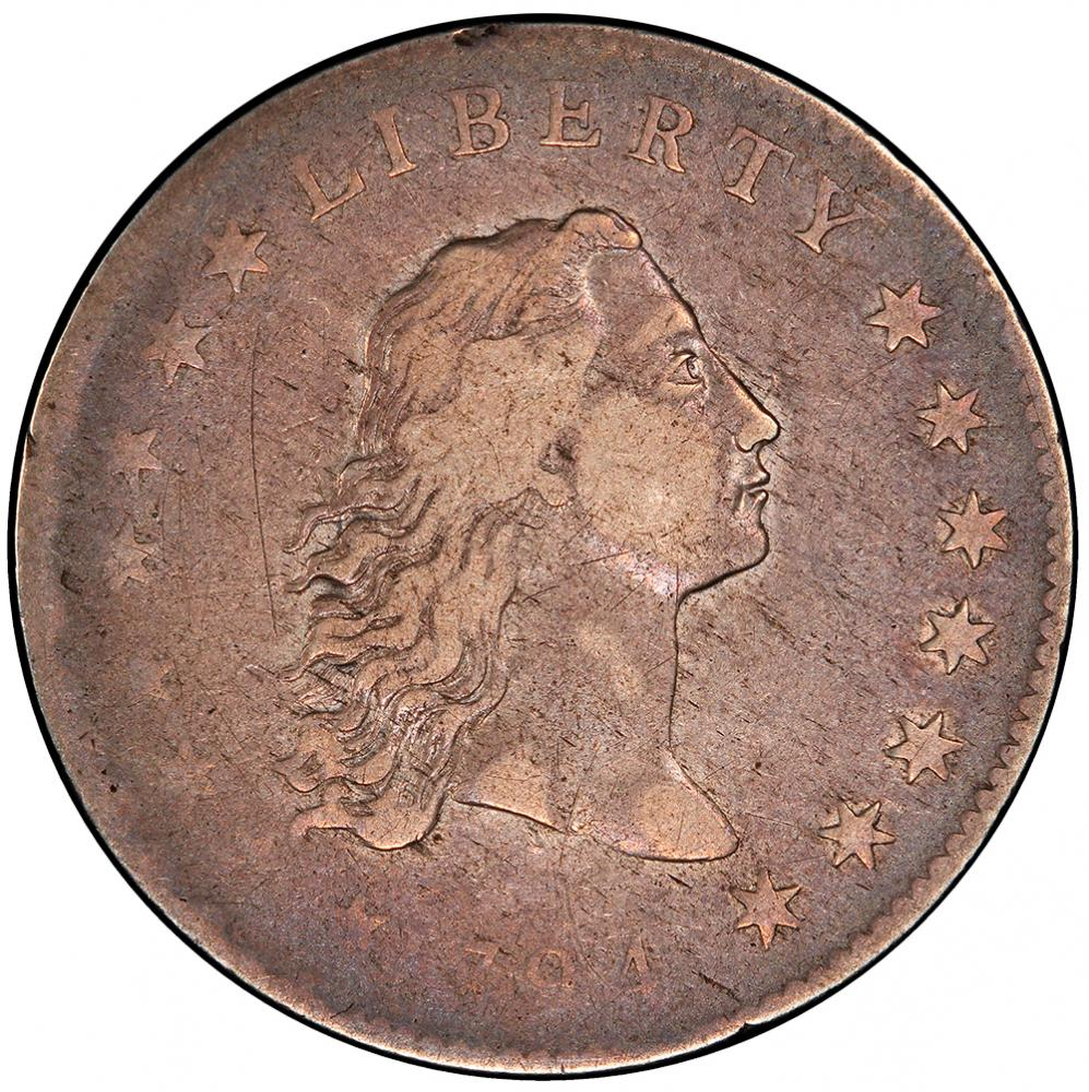 1794 Flowing Hair $1 PCGS VF20