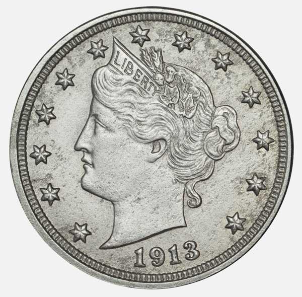 McDermott/Bebee Collection 1913 Liberty Head nickel