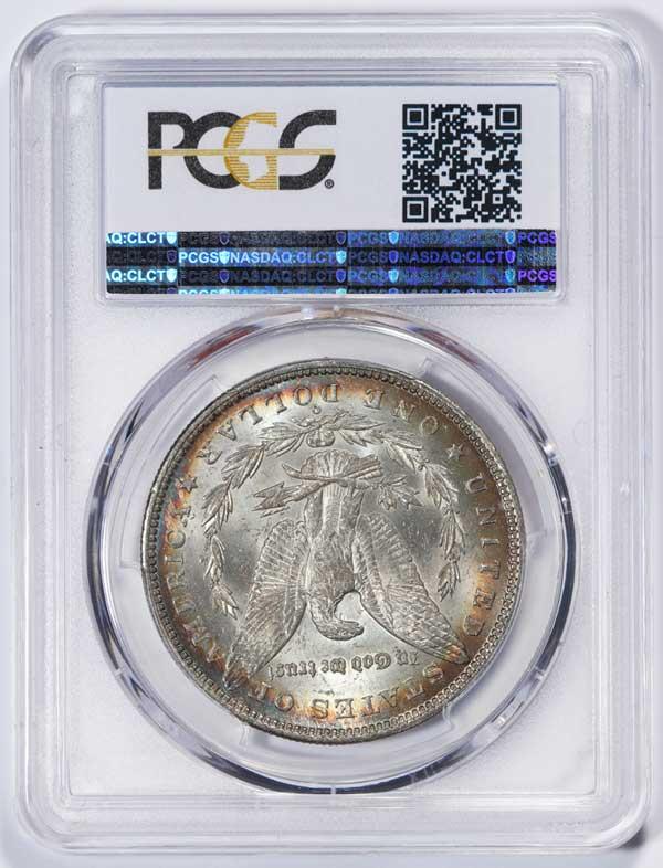 Reverse 1888-O Morgan Silver Dollar VAM 1B Scarface