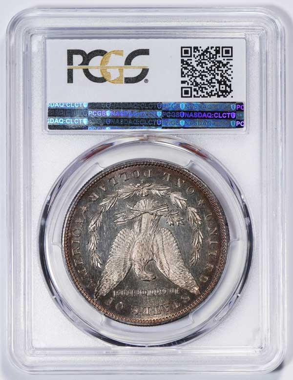 Reverse 1892-S Morgan Silver Dollar VAM 2 Doubled Date