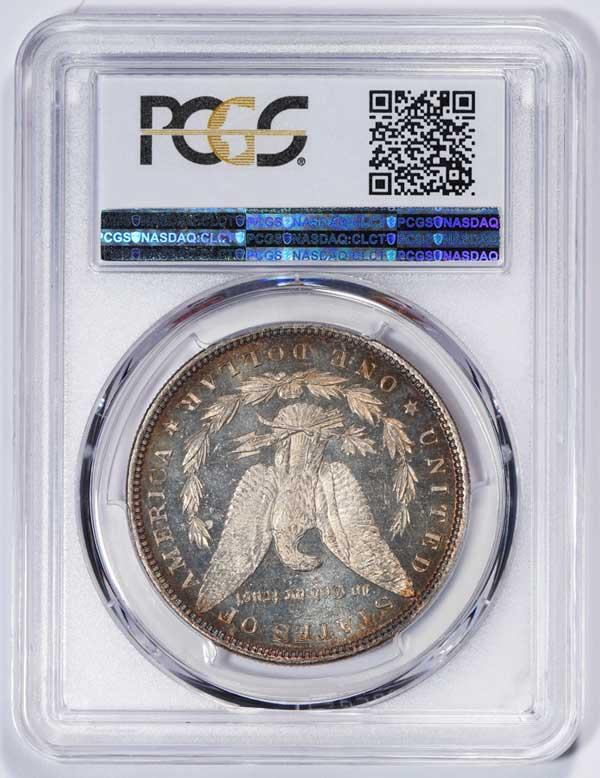 Reverse 1880 Morgan Silver Dollar
