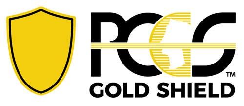 PCGS Gold Shield logo
