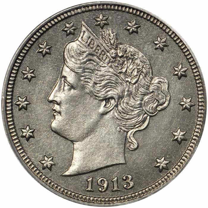 1913 Liberty Head nickel Obverse