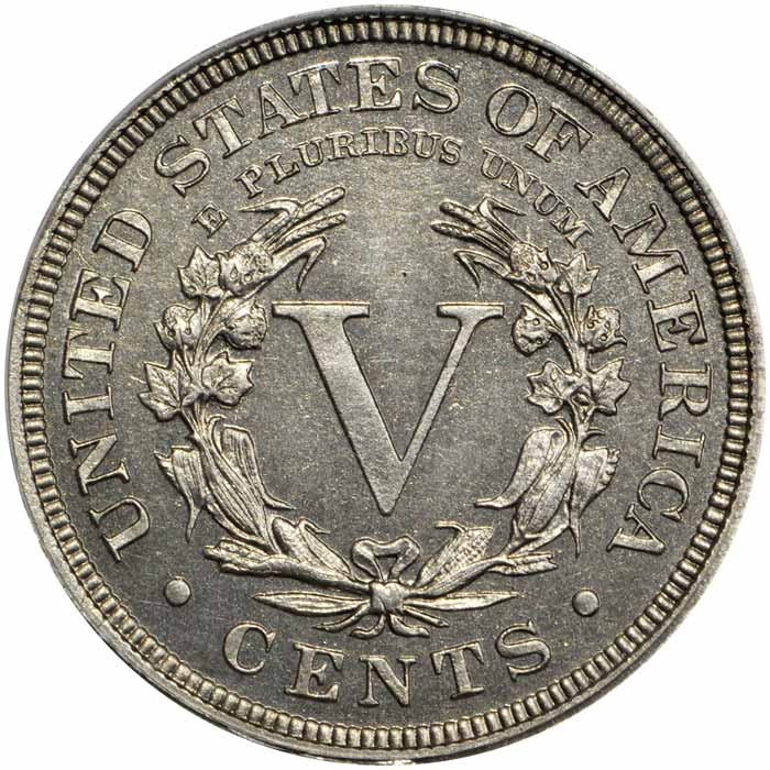 1913 Liberty Head nickel Reverse
