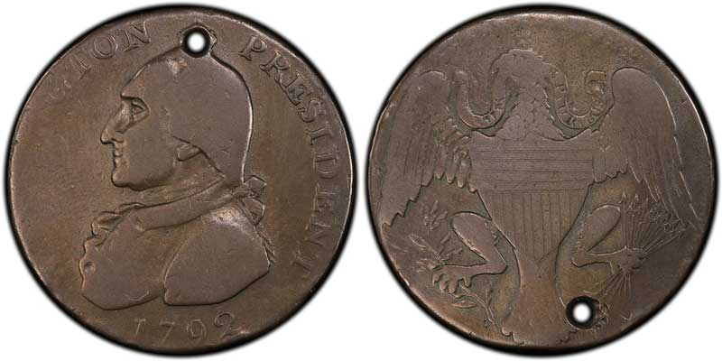 1792 Washington Eagle