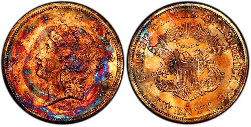"PCGS MS67 ""Supernova"" Double Eagle"