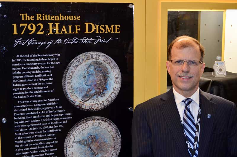 Brian Hendelson and Rittenhouse Half Disme