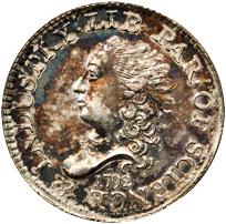 1792 half disme (MS-63) obverse