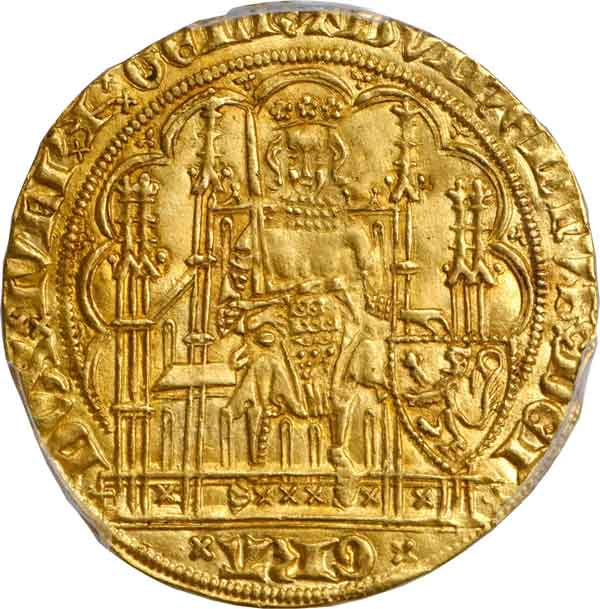 Julich-Cleve-Berg. Ecu d'Or, ND. Wilhelm III (1393-1402). obverse