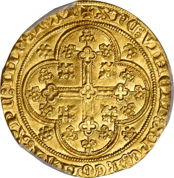 Julich-Cleve-Berg. Ecu d'Or, ND. Wilhelm III (1393-1402). reverse