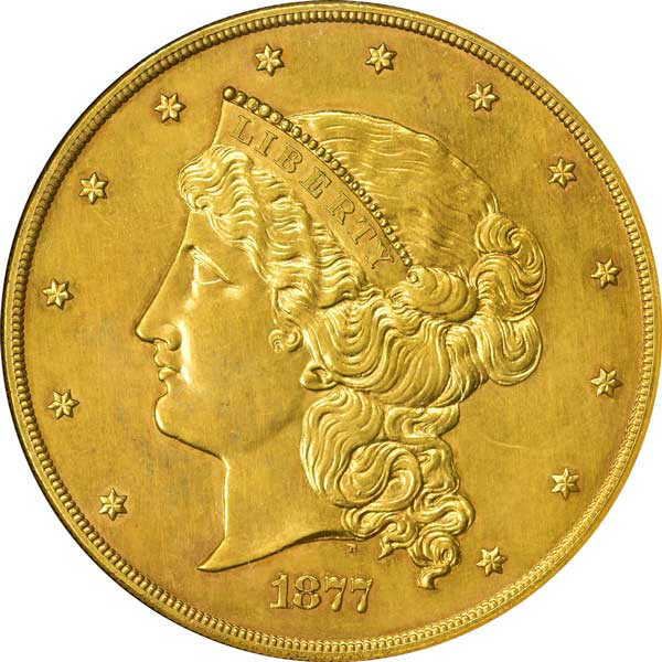 $50 1877 Half Union obverse