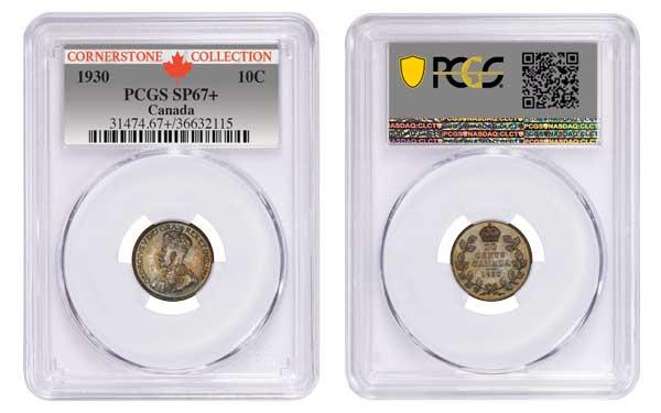 Canada 1930 10C PCGS SP67+