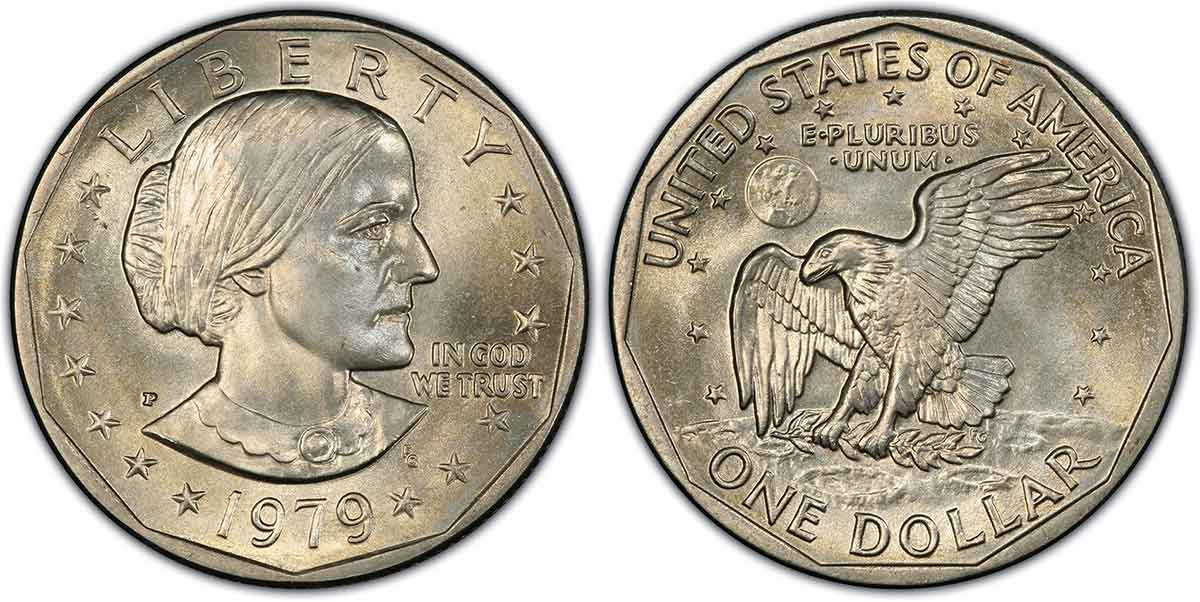 1979-P SBA$1 PCGS MS68. Image courtesy of PCGS CoinFacts.