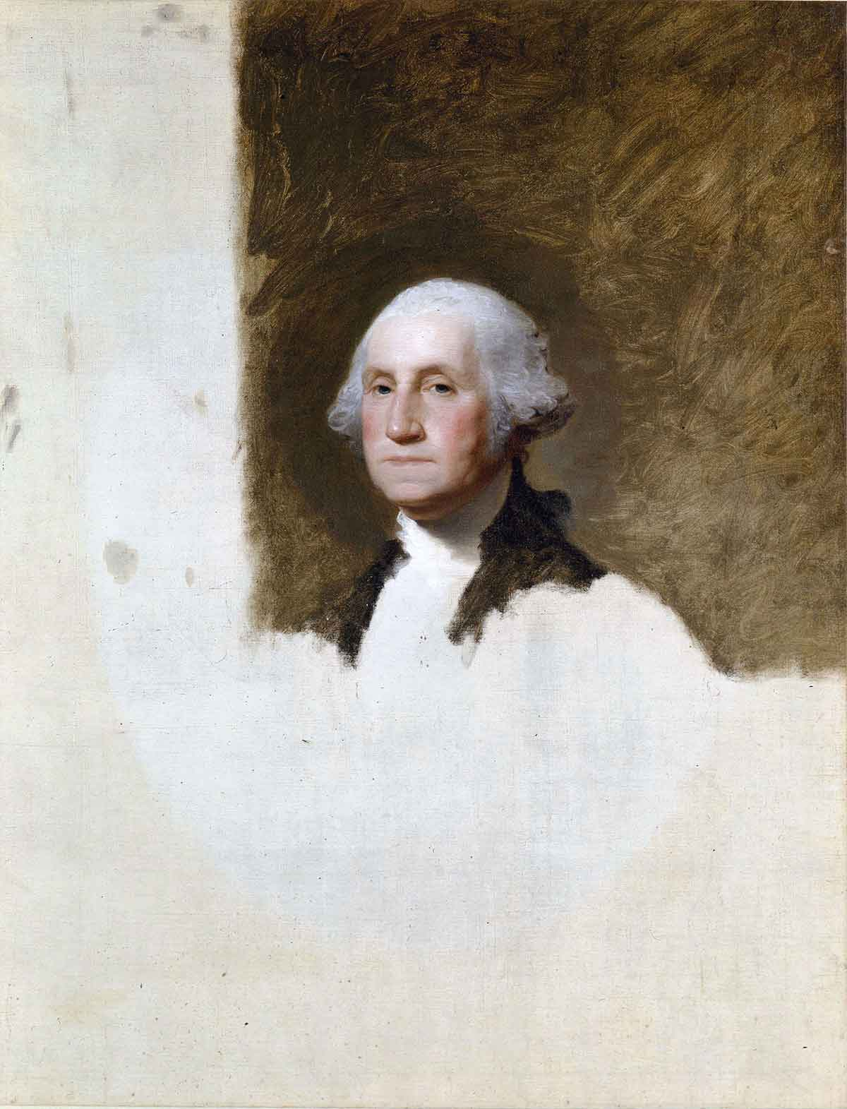 George Washington Athenaeum Portrait by Gilbert Stuart