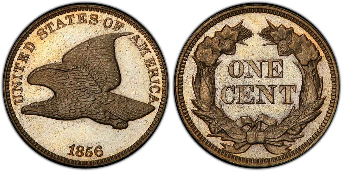 Flying Eagle Cent Type, 1856-1858