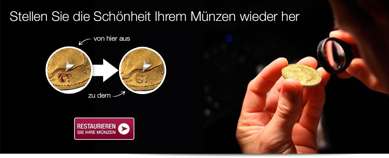 Restaurieren Sie Ihre Münzen