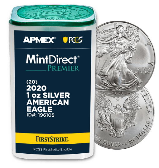 APMEX MintDirect® Premier coin tube image