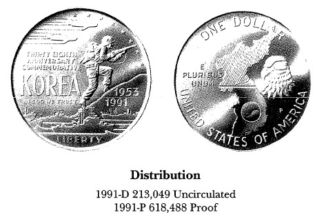 1991 Korean War Anniversary $1