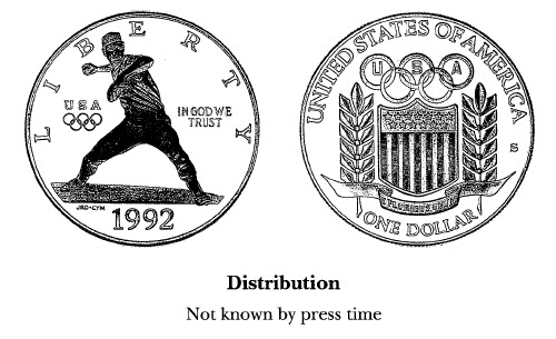 1992 Olympic Games $1