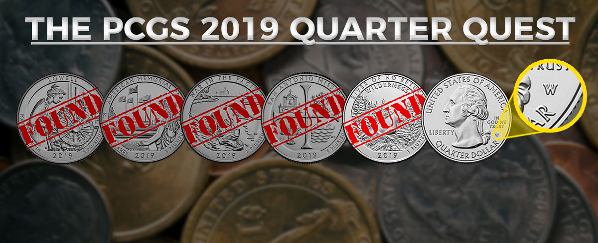 The 2019 PCGS Quarter Quest