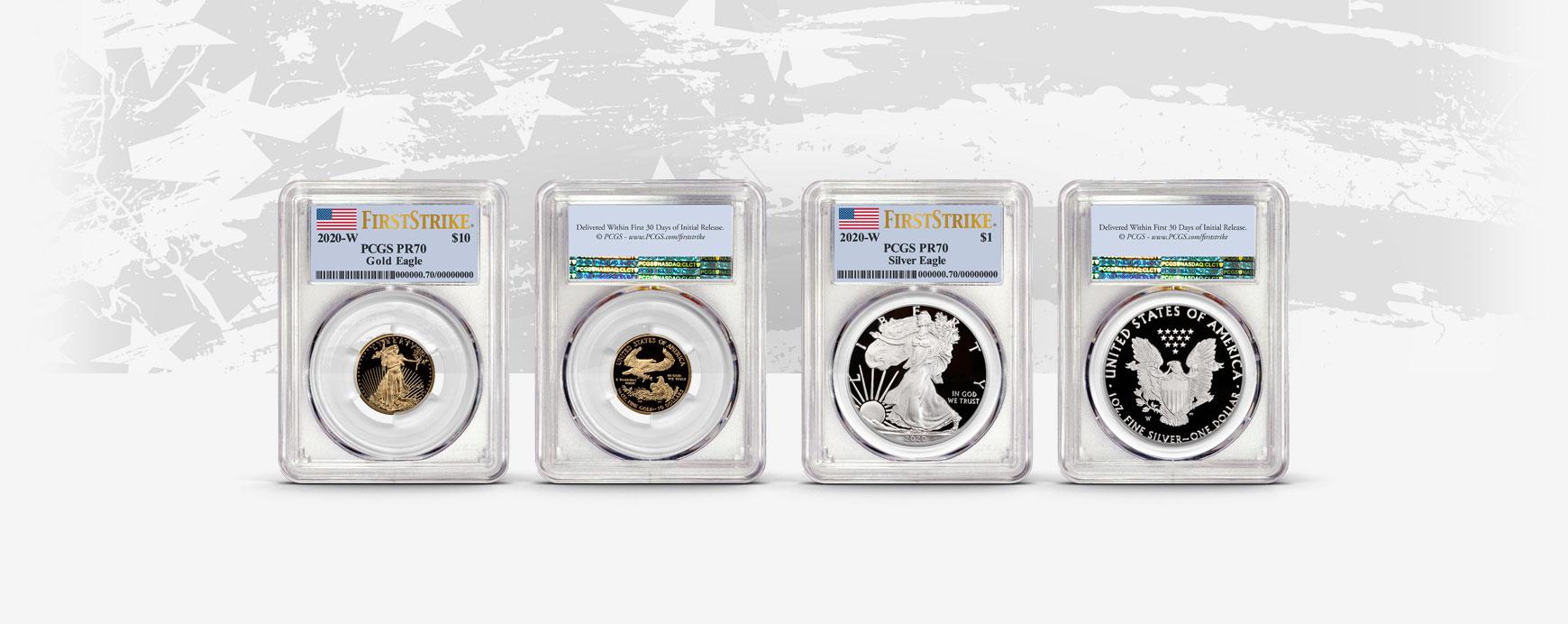 2019 S Limited Edition Silver Quarter Set NGC PF70 First Day w//10 Coin Blue Case