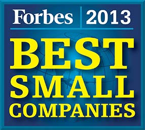2013 Forbes Best Small Companies