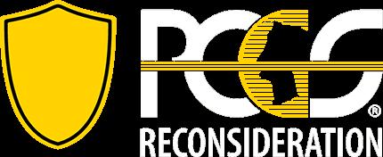 PCGS Reconsideration logo