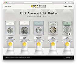 PCGS Museum of Coin Holders