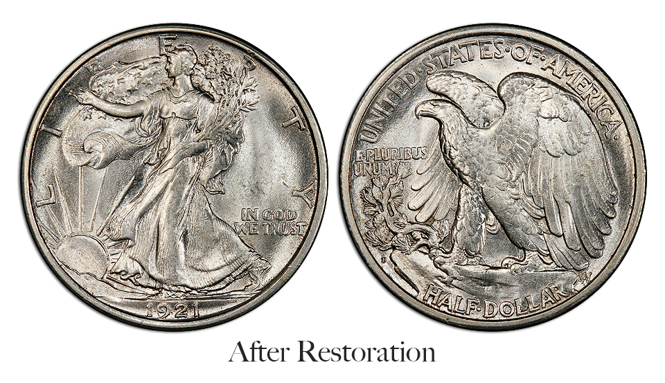 coin after