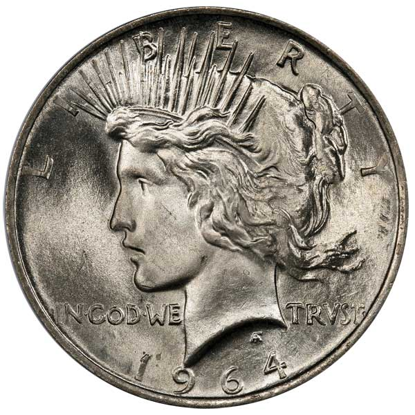 10 000 Reward 1964 D Peace Dollar