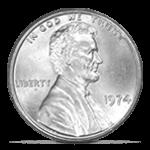 1974 Aluminum Lincoln Cent