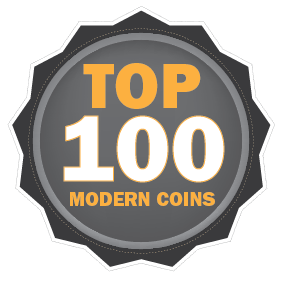 List of the Top 100 Modern Coins