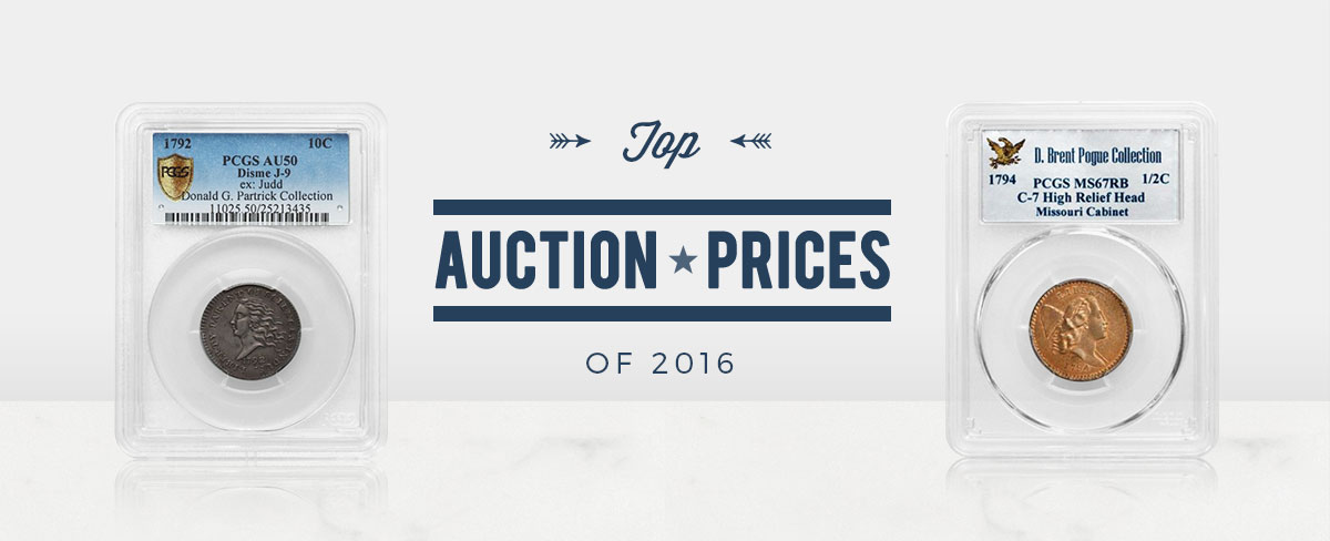 Top Auction Prices of 2016