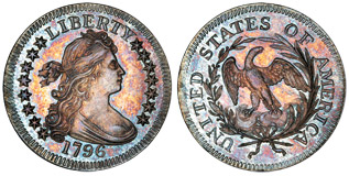 1796 Quarter, MS67