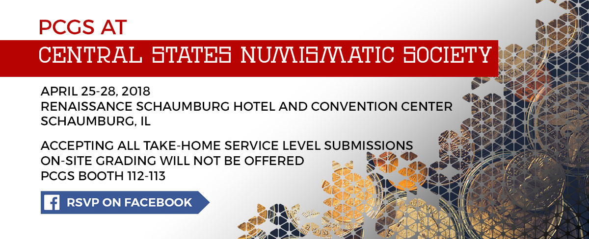 RSVP for the Central States Numismatic Society on Facebook