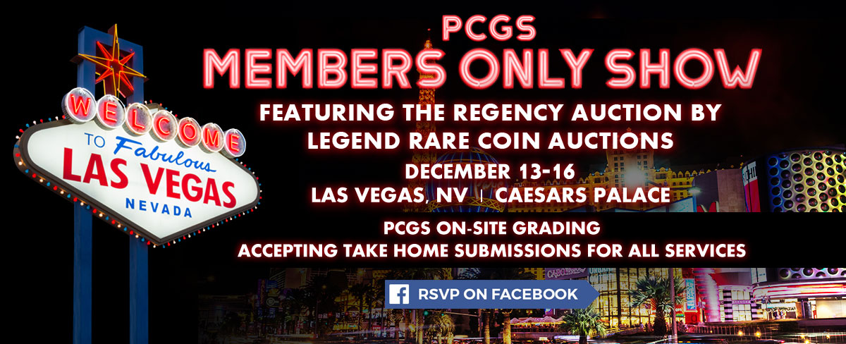 RSVP for the PCGS Members Only Show on Facebook