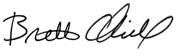 Brett Charville's signature